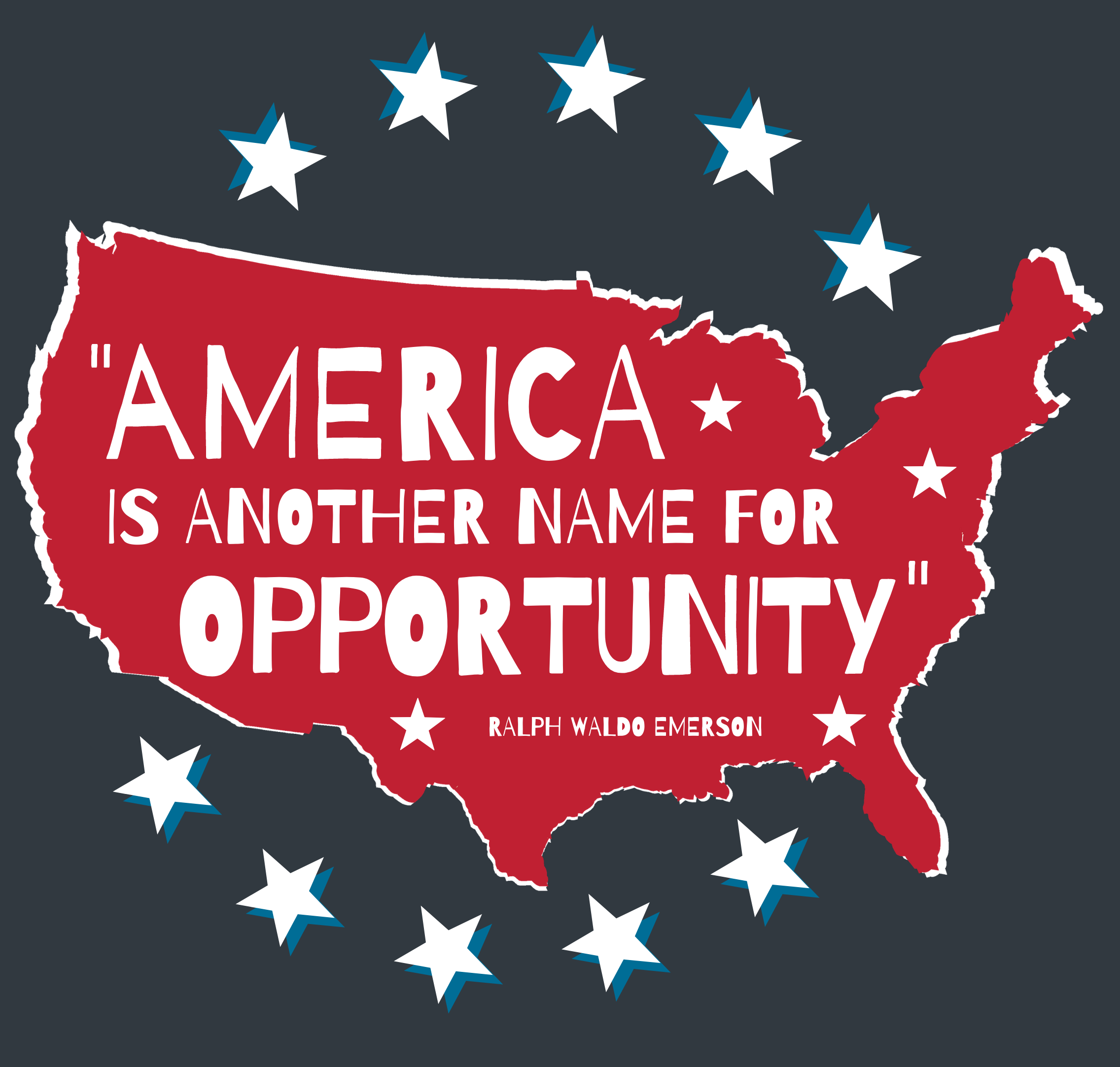 America Is Another Name for Opportunity [INFOGRAPHIC] | Simplifying The Market