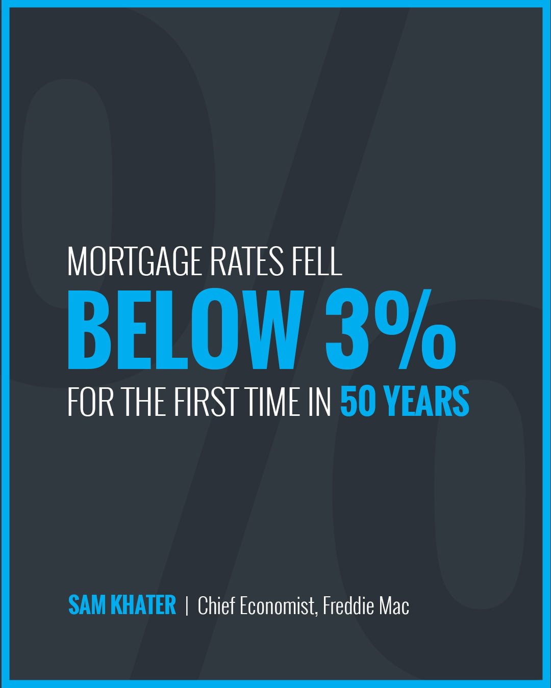 Mortgage Rates Fall Below 3% [INFOGRAPHIC]   Simplifying The Market
